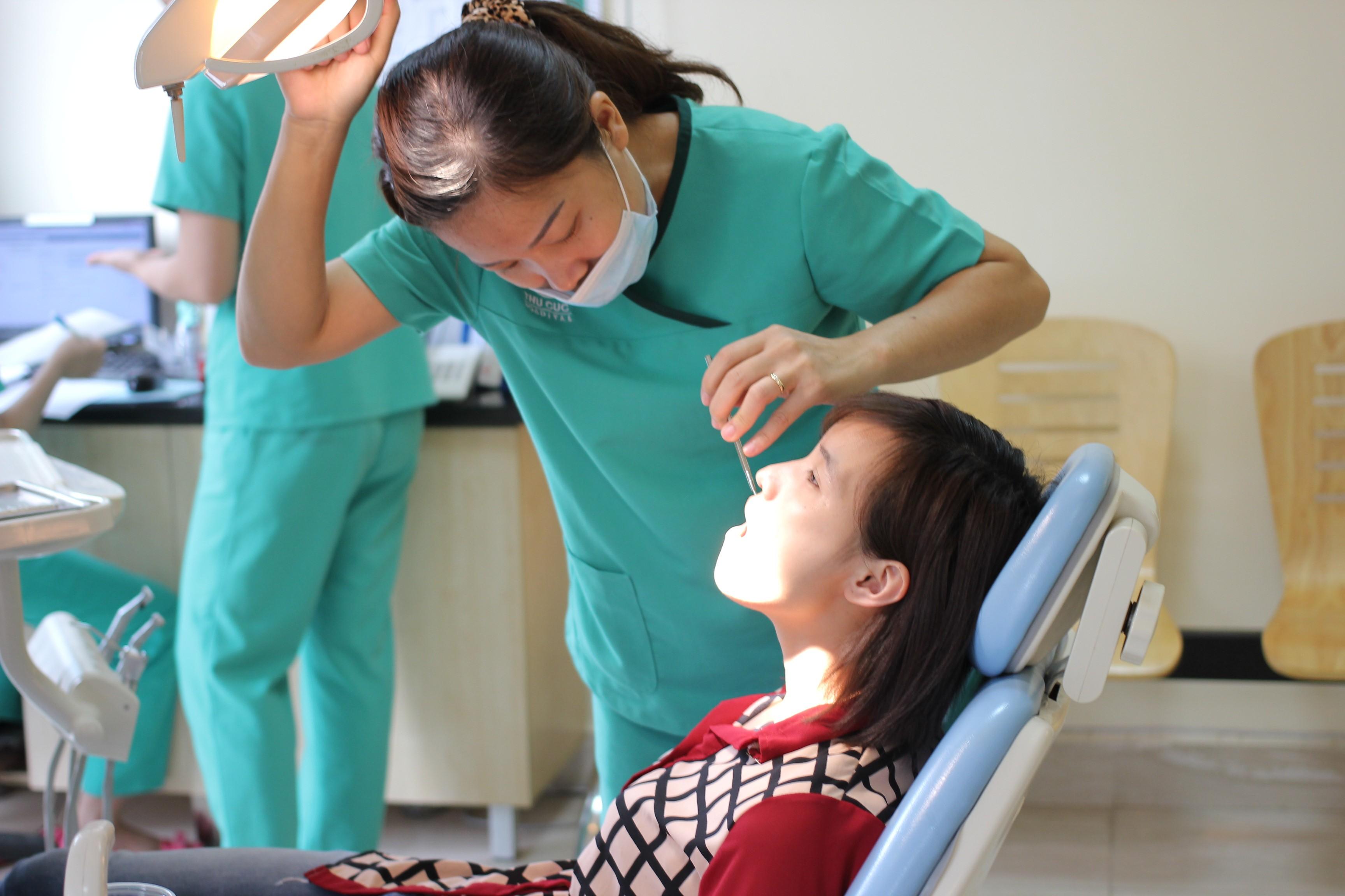 Phòng khám nha khoa uy tín Tại Bệnh viện Thu Cúc
