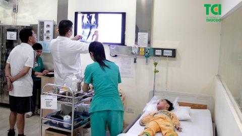 Phòng cấp cứu Bệnh viện Đa khoa Quốc tế Thu Cúc