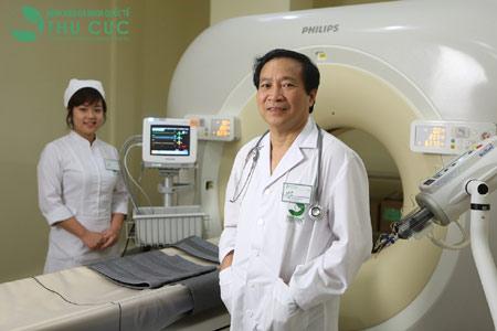 Chẩn đoán bệnh hệ thống máy chụp cắt lớp rất hiện đại