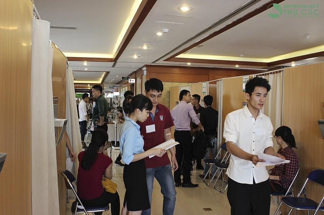Ngày hội sức khỏe nhân viên khách Sạn Lotte Việt Nam