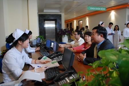 Thanh toán bằng thẻ Techcombank tại Bệnh viện Thu Cúc