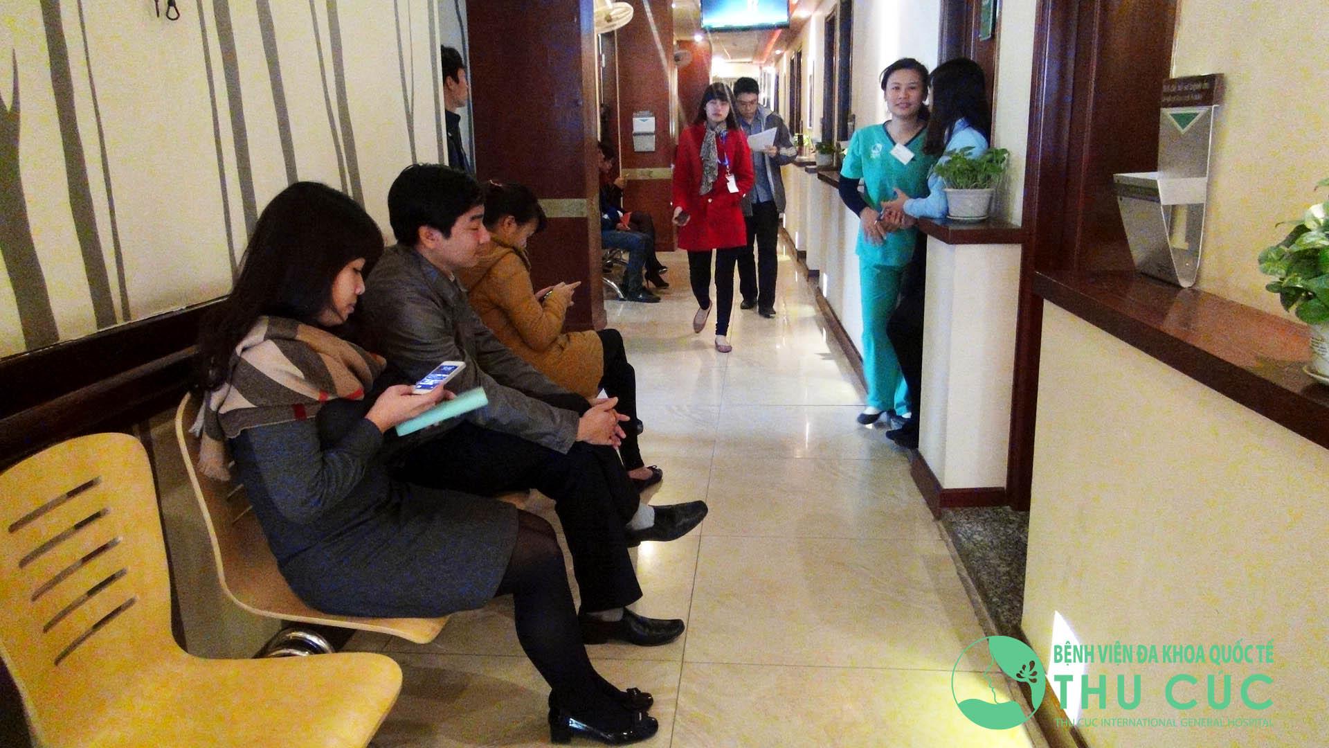 Khám sức khỏe trọn gói tại Bệnh viện Thu Cúc