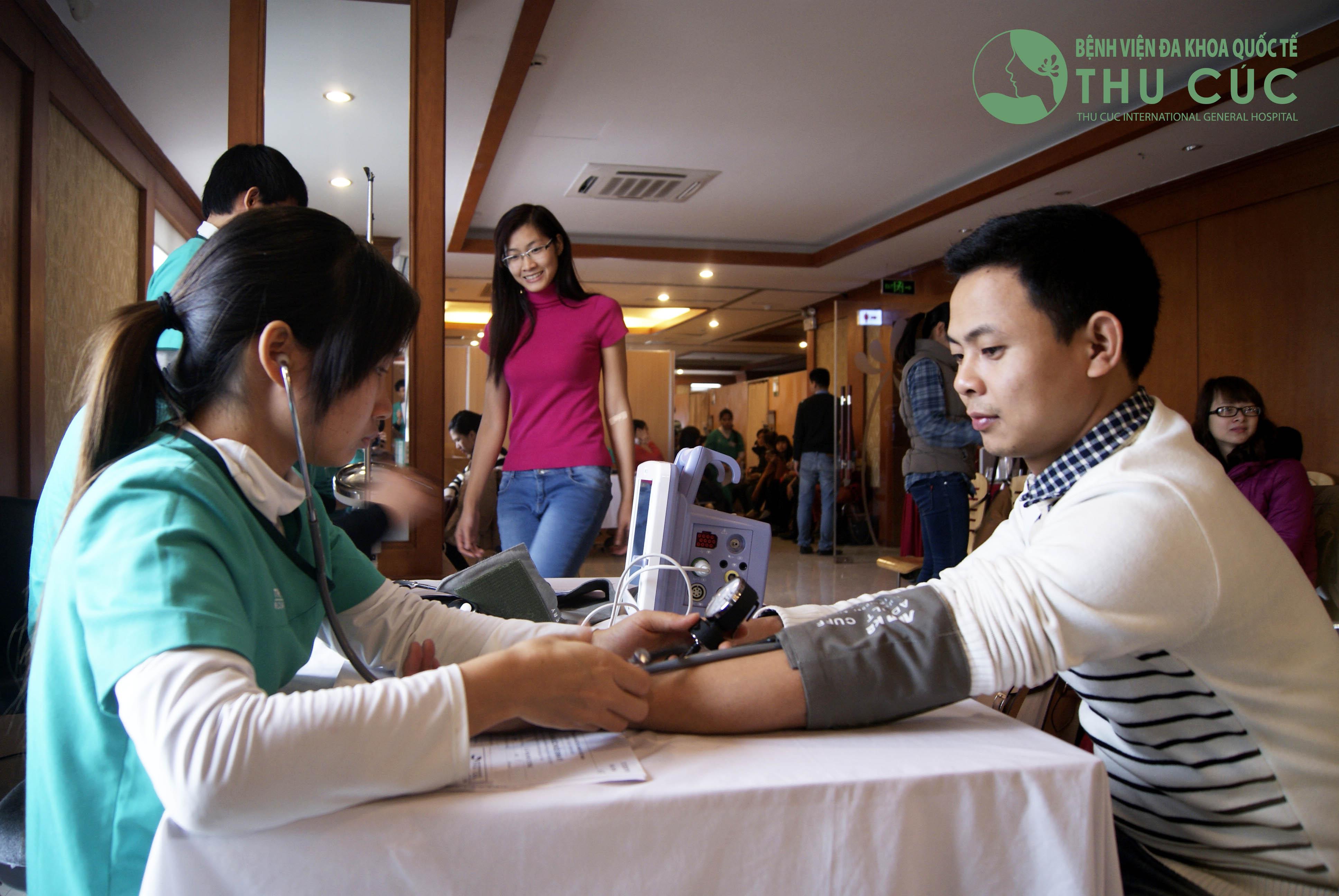 Khám sức khỏe cho công ty ở Hà Nội