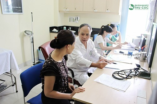 Khám sức khỏe vào thứ 7 tại Bệnh viện Thu Cúc