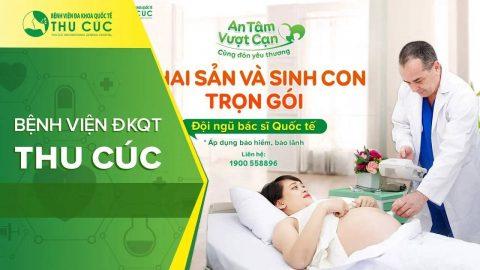 Khám thai trọn gói ở bệnh viện Thu Cúc