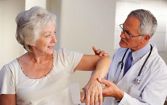 Chữa đau khớp khuỷu tay sự vận động của tay bị hạn chế