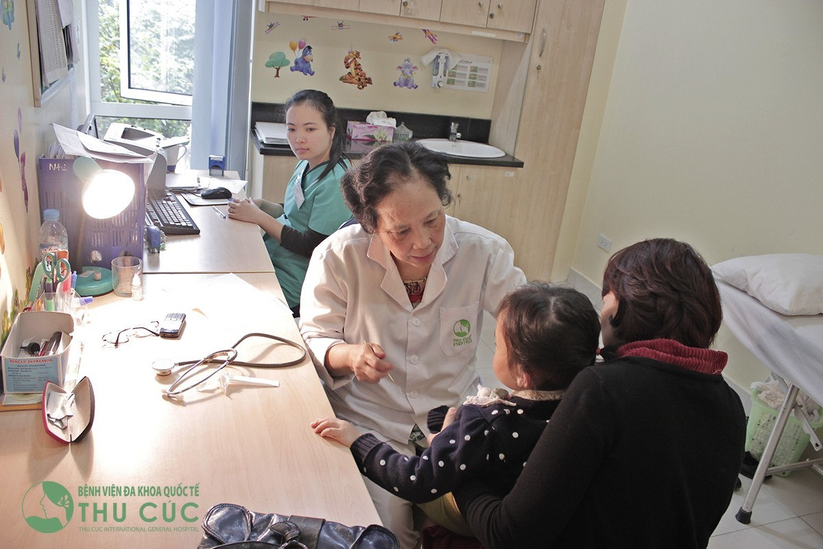 Phòng khám nhi quốc tế uy tín tại Hà Nội