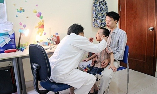 Phòng khám nhi uy tín tại Hà Nội Bệnh viện Thu Cúc