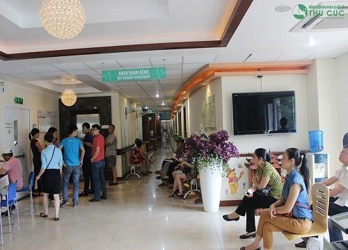 Phòng khám chuyên khoa Gan mật Bệnh viện Đa khoa Quốc tế Thu Cúc là địa chỉ khám chữa uy tín các bệnh về gan.