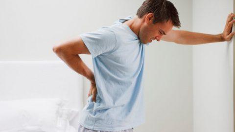 Bí quyết trị đau lưng do giãn dây chằng