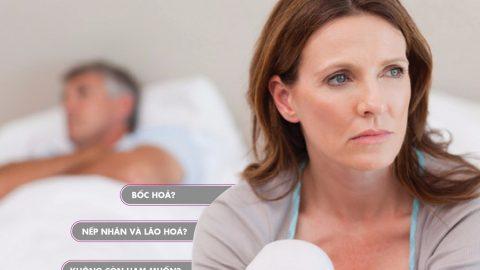 Đổ mồ hôi ở phụ nữ mãn kinh có tình trạng đổ mồ hôi nhiều