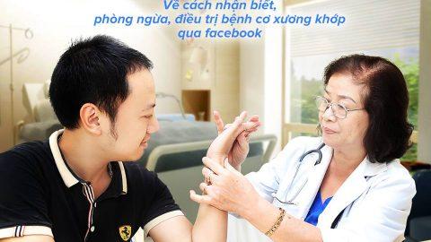 Tư vấn trực tuyến về bệnh cơ xương khớp qua Facebook