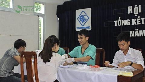 Khám sức khỏe tại Saigon Bank tại Bệnh viện Thu Cúc
