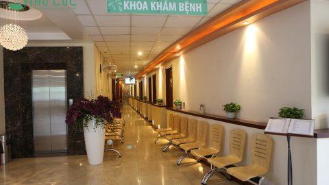 Cơ sở vật chất của bệnh viện Đa khoa Quốc tế Thu Cúc