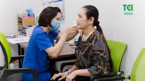 Chuyên khoa da liễu Bệnh viện ĐKQT Thu Cúc