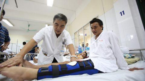 Đứt dây chằng đầu gối Có khoảng 50% những tổn thương