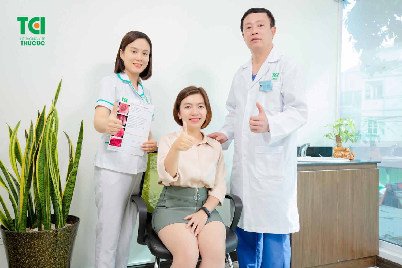 Dịch vụ thăm khám và điều trị tại Hệ thống Y tế Thu Cúc tận tình, chu đáo