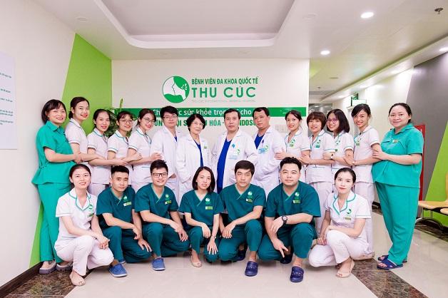 đội ngũ bác sĩ chuyên khoa tiêu hóa