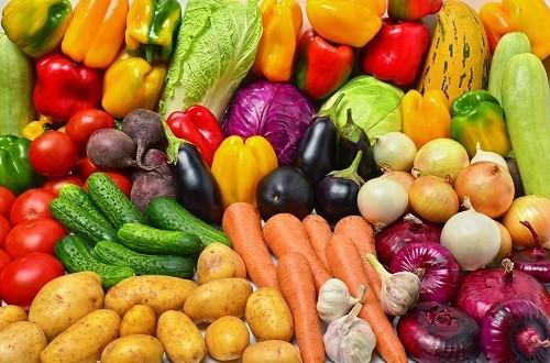 Trái cây và rau quả cung cấp một lượng dồi dào chất chống oxy hóa cho người bị xơ gan