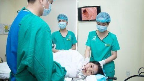 Nội soi dạ dày đường mũi tại BVĐKQT Thu Cúc