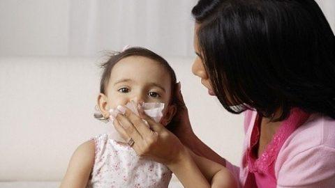 Viêm đường hô hấp trên ở trẻ đề kháng suy yếu