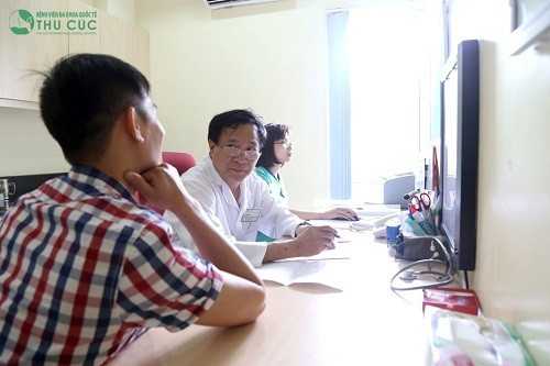 Thăm khám để chẩn đoán nguyên nhân gây nổi hạch ở háng và cách điều trị hiệu quả