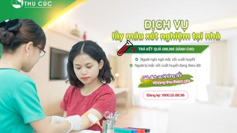 Lấy máu tại nhà – trả kết quả online cho xét nghiệm