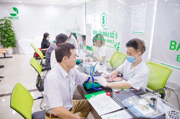 Xét nghiệm máu để chẩn đoán ngưỡng phát hiện virus viêm gan B