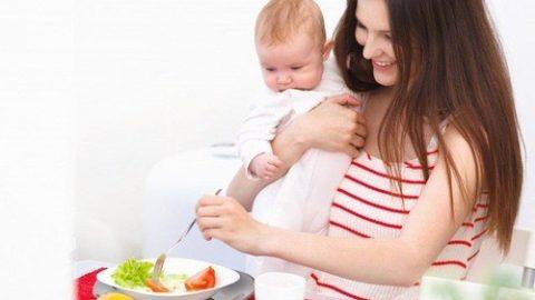 Thực đơn cho mẹ sinh mổ nhanh hồi phục, dồi dào sữa