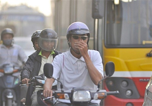 bảo vệ lá phổi trước khói bụi ô nhiễm