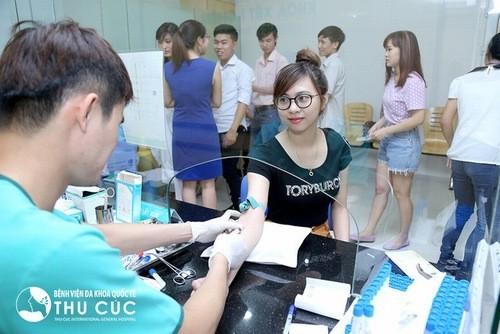 Bệnh viện Thu Cúc xét nghiệm máu tổng quát hiệu quả