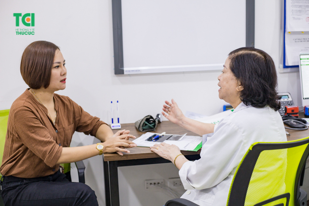 Thăm khám cận lâm sàng và lâm sàng chẩn đoán bệnh chính xác.