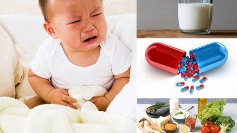 Triệu chứng rối loạn tiêu hóa ở trẻ mẹ nên biết