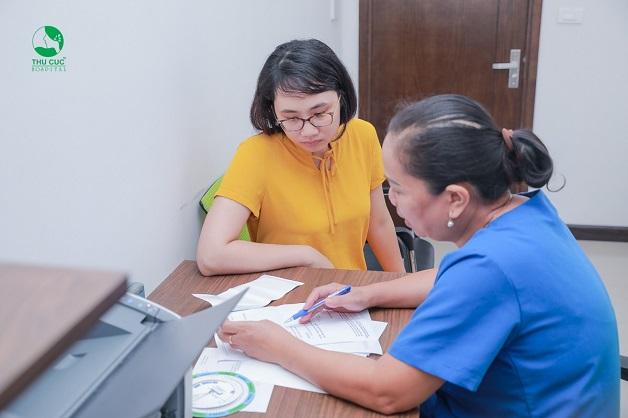 Bệnh nhân cần đến cơ sở y tế để được thăm khám xử trí thích hợp