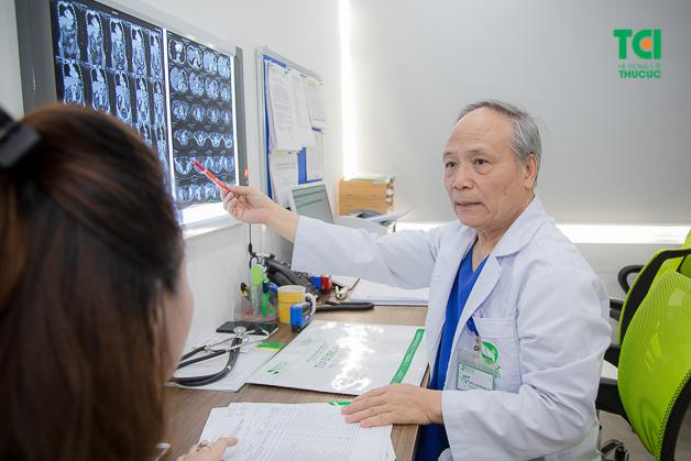 Đội ngũ các y bác sĩ giỏi chuyên môn, giàu kinh nghiệm, luôn tận tình thăm khám và điều trị cho người bệnh.