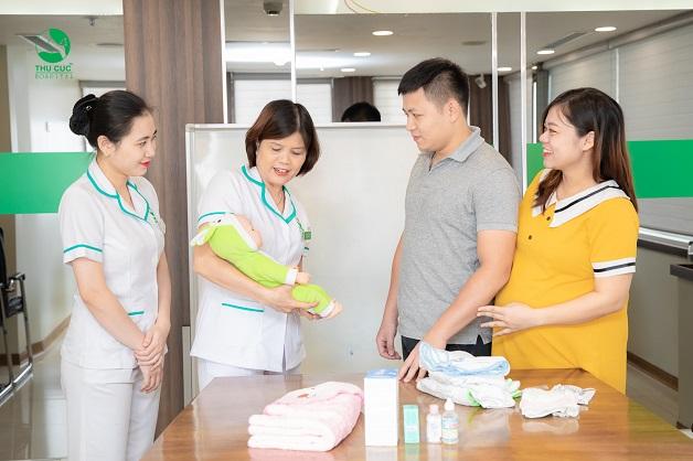 Đăng ký thai sản trọn gói của Thu Cúc, các mẹ bầu sẽ được tham gia lớp học tiền sản miễn phí