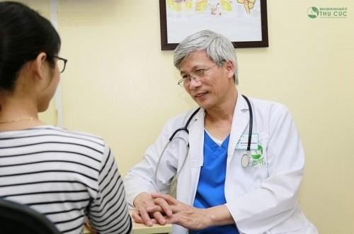 Thăm khám để được chẩn đoán và tư vấn điều trị kịp thời hiệu quả