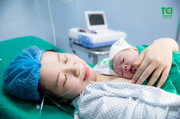 Tại Thu Cúc, mẹ sinh thường sẽ được chăm sóc tận tình