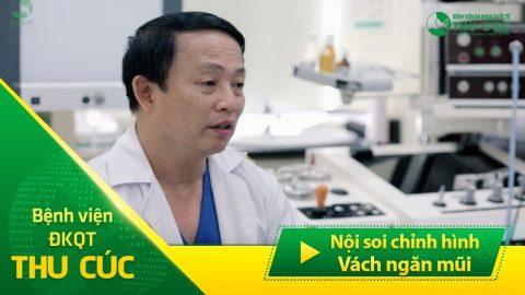 Phẫu thuật nội soi chỉnh hình vách ngăn mũi tại BV Thu Cúc