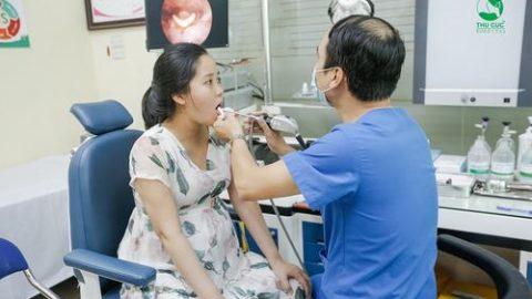 Nội soi cổ họng có đau không?các bệnh lý ở tai mũi họng
