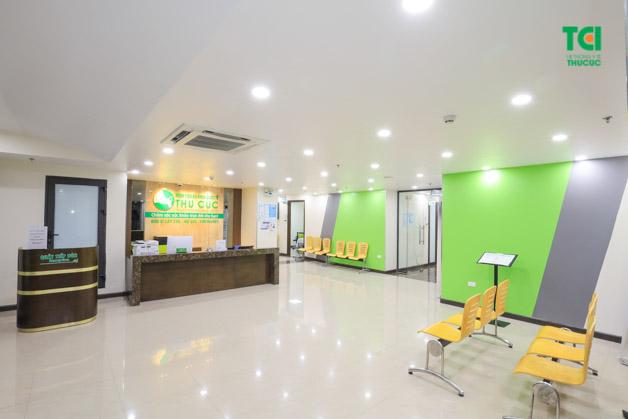Phòng khám Nhi Thu Cúc thuận lợi về vị trí, tiện lợi về quy trình giúp thăm khám cho nhiều bệnh Nhi trên mọi địa bàn.