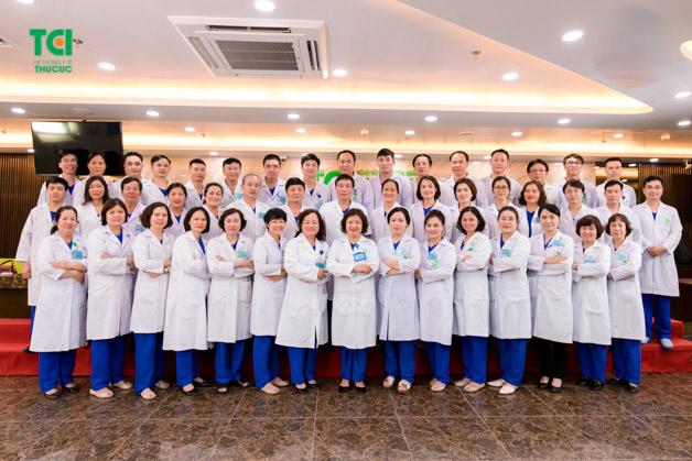 Đội ngũ bác sĩ Bệnh viện Đa khoa Quốc tế Thu Cúc