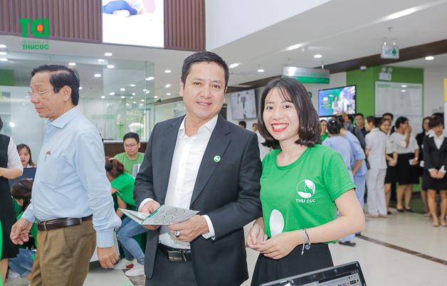 NSUT Chí Trung tới thăm khám tại phòng khám ĐKQT Thu Cúc
