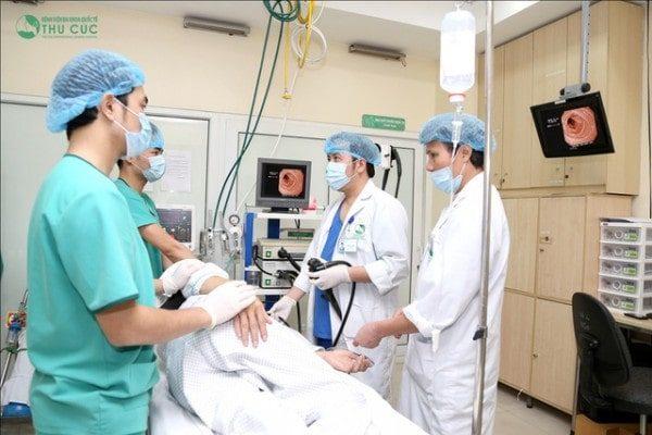 phòng khám nội soi bệnh viện thu cúc trang bị máy nôi soi hiện đại