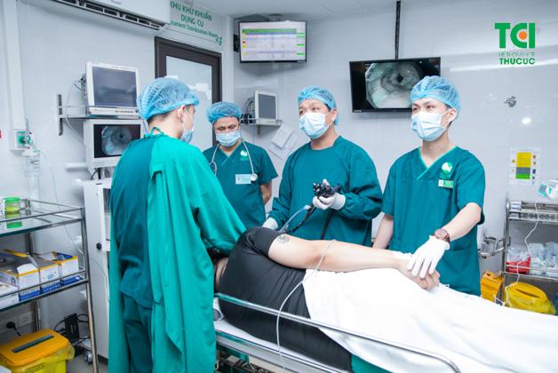 NBI cho phép ống nội soi tiếp cận vị trí tổn thương ở khoảng cách gần nhất