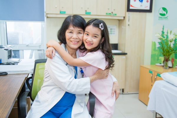 hạn chế sử dụng kháng sinh trong điều trị bệnh cho trẻ tại Thu Cúc
