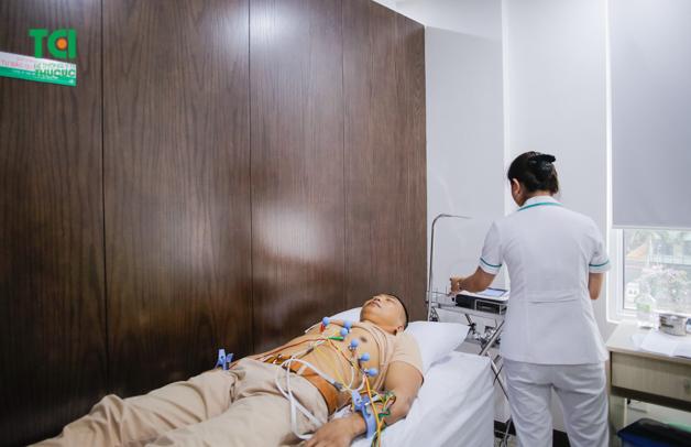 Hệ thống thiết bị bệnh viện được trang bị hết sức hiện đại