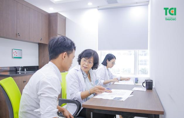 Sau khi có kết quả bạn sẽ gặp bác sĩ và được tư vấn về kết quả cũng như những phương hướng điều trị bệnh tốt nhất
