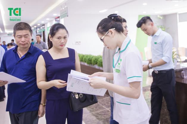 Tại Thu Cúc, luôn có đội ngũ nhân viên y tế hỗ trợ kịp thời, tận tình