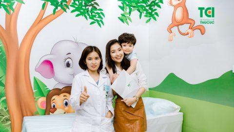 Hàng nghìn lý do để ba mẹ lựa chọn phòng khám Nhi Thu Cúc